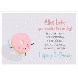 Alles Liebe zum runden Geburtstag!