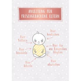 Anleitung für frischgebackene Eltern