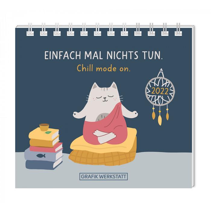 Mini-Kalender 2022 Einfach mal nichts tun.